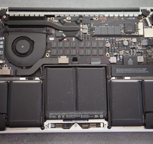 Démontage et changement du disque flash