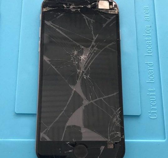 1 Smartphone Ecran cassé