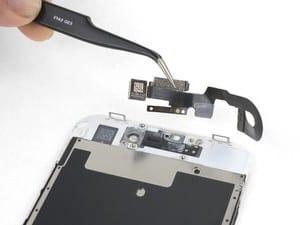 Remplacement ensemble caméra frontale et nappe capteurs Apple iPhone SE 2020